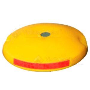 Botón de plástico con reflejantes DH-3