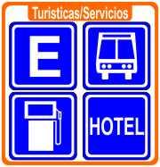 Señales Informativas Turísticas y de Servicios