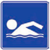 Señal Informativa Turística SIT-3 Balneario