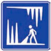 Señal Informativa Turística SIT-5 Grutas