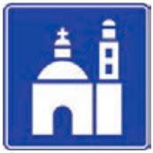 Señal Informativa Turística SIT-7 Monumento Colonial