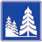 Señal Informativa Turística SIT-8 Parque Nacional