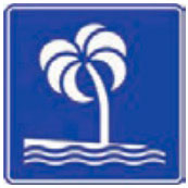 Señal Informativa Turística SIT-9 Playa