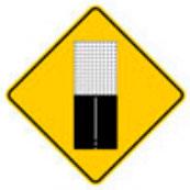 Señal Preventiva SP-27 Termina Pavimento