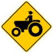 Señal Preventiva SP-36 Vehículos Agrícolas