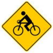 Señal Preventiva SP-39 Circulación de Bicicletas