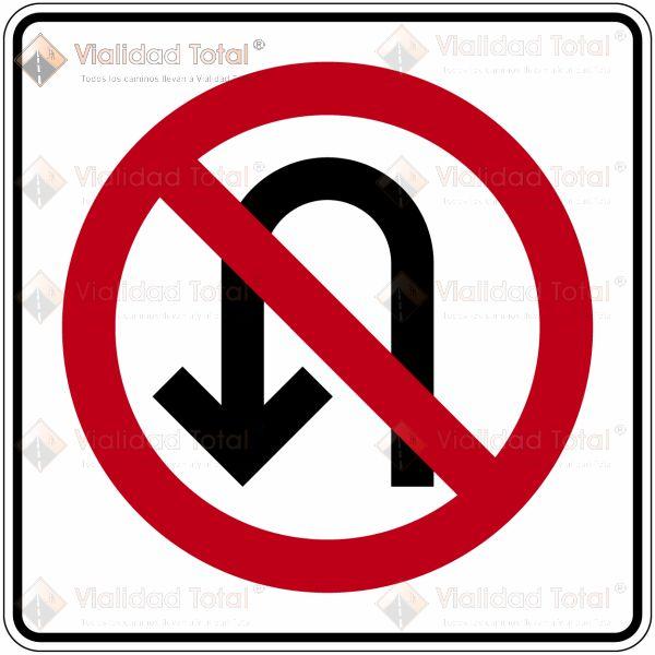Señal Restrictiva SR-25 Prohibido el Retorno