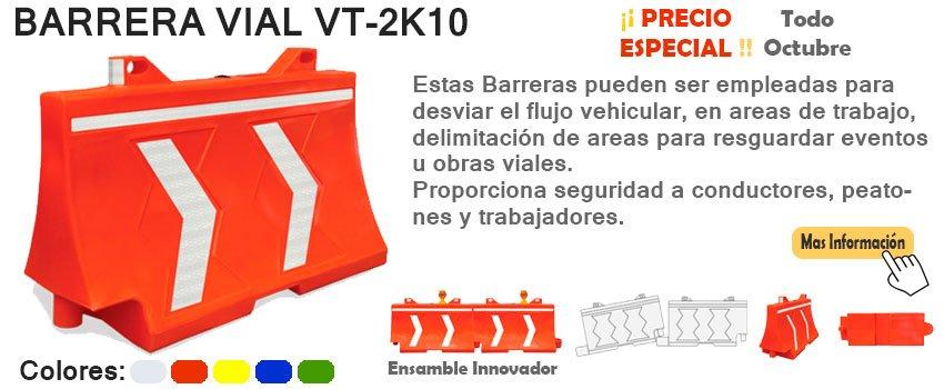 Banner Barrera de Seguridad Vial